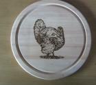Turkey bread board