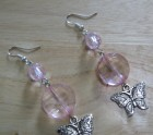 Pink butterfly's