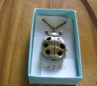 Ladybird pendant watch