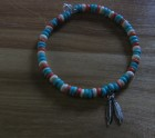 Feather friendship bracelet