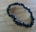 Black jet stone