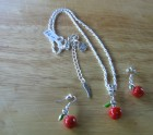 Apple Necklace set