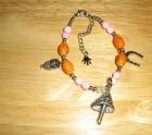 Magic mushroom bracelet
