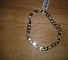 Silver curb Bracelet