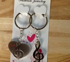 Love music Key-ring set
