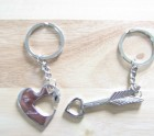 Heart and Arrow Key-ring set
