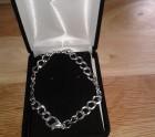 Patterned Silver Bracelet