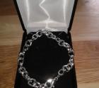 Heavy link Silver Bracelet