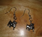 British Bulldog earrings