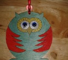Red and green owllie