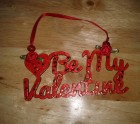 Be my valentine hanger